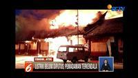 Kebakaran hebat melanda sebuah klenteng di Semarang, Jawa Tengah. Seorang juru kunci tewas karena terkunci di dalam dan gagal menyelamatkan diri.