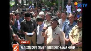 Ratusan Anggota KPPS di Sleman Demo Tuntut Pembayaran Honor - Liputan 6 Terkini