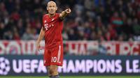 Sedari muda Robben memang sulit mengembangkan permainannya akibat seringnya didera cedera. Masalah tersebut dialami sejak membela PSV hingga Bayern Munchen. (AFP/Christof Stache)