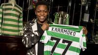 Klub raksasa Skotlandia, Celtic, memberikan kontrak profesional berdurasi tiga tahun untuk pemain berusia 15 tahun, Karamoko Dembele.