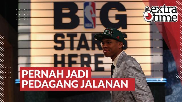 Berita Video Kisah Pilu Giannis Antetokounmpo, Pemain Basket NBA yang Pernah Menjadi Pedagang Jalanan