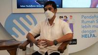 Wakil Menteri Kesehatan RI Dante Saksono Harbuwono melakukan sidak ke RS Cipto Mangunkusumo Jakarta sekaligus jumpa pers terkait antisipasi lonjakan pasien COVID-19 pada 25 Desember 2020. (Dok Kementerian Kesehatan RI)