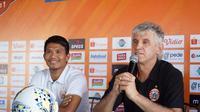 Pelatih Persija Jakarta, Ivan Kolev, mengaku timnya tak memiliki persiapan khusus untuk melawan Bali United. (dok. Persija Jakarta)