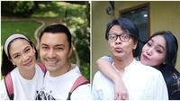 Pasangan selebriti yang tetap langgeng dan romantis diusia pernikahan yang lebih dari 20 tahun. (Sumber :Instagram/@anjasmara/@armandmaulana04)