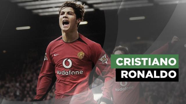 Berita video perubahan wajah Cristiano Ronaldo dari tahun 2003-2019
