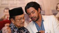 Petuah BJ Habibie dalam peringatan Hari Anak Nasional. (Foto: Bintang.com/Adrian Putra)