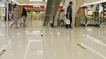 FOTO: Anak Dibawah Usia 12 Tahun Diizinkan Masuk Pusat Perbelanjaan