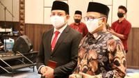 Pemkot Bengkulu meminta seluruh pelaku usaha ikut mensosialisasikan Perwal nomor 29 tahun 2020. (Liputan6.com/Yuliardi Hardjo)