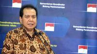 Konferensi pers ini guna mengklarifikasi sejumlah pemberitaan mengenai pengunduran diri Karen Agustiawan sebagai Direktur Utama PT Pertamina. (Liputan6.com/Faisal R Syam)