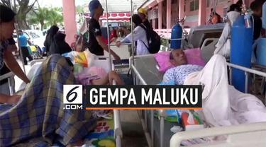 Gempa dengan kekuatan magnitudo 6,8 mengguncang Ambon, Maluku pada hari ini, Kamis (26/9/2019). Kedalaman lindu 10 kilometer.