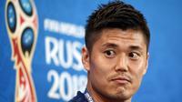 Penjaga gawang tim nasional Jepang, Eiji Kawashima. (AFP/Nicolas Asfouri)