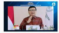 Menteri Pendayagunaan Aparatur Negara dan Reformasi Birokrasi (MenPANRB) Tjahjo Kumolod dalam Bincang Editor Liputan6.com 'Perampingan Birokrasi dan Rekrutmen ASN 2021.