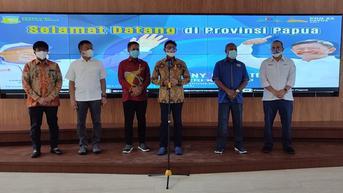 Menkominfo Terbang ke Papua Pastikan Infrastruktur Telekomunikasi PON XX Papua 2021 Aman