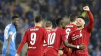 Gelandang Liverpool Alex Oxlade-Chamberlain (FRANÇOIS WALSCHAERTS / AFP)