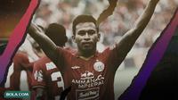 Osvaldo Haay. (Bola.com/Dody Iryawan)