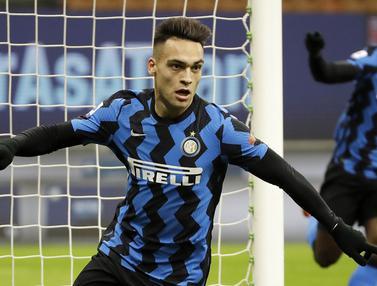 FOTO: Gilas Lazio, Inter Milan Kudeta AC Milan dari Puncak Klasemen Liga Italia