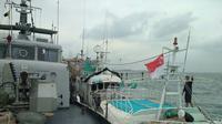 Sabu 1 ton ditemukan dalam kapal Sunrise Glory di Batam. (Istimewa)