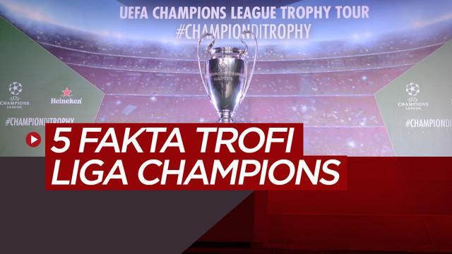 Berita video 5 fakta tentang trofi Liga Champions serta kehadirannya di Jakarta, Surabaya dan Bali.