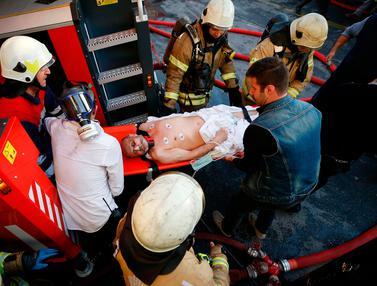 Rumah Sakit di Istanbul Kebakaran, Puluhan Pasien Dievakuasi