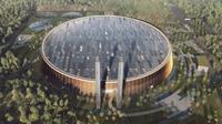 Fasilitas Konversi Sampah Menjadi Energi di Shenzen, Tiongkok. Kredit: Schmidt Hammer Lassen Architects
