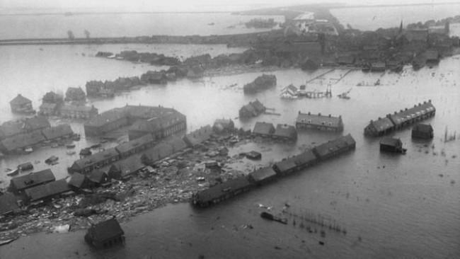 Banjir Laut Utara. (Sumber Agency for International Development)