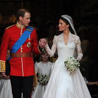 Pernikahan Pangeran William dan Kate Middleton. (Foto: AFP)