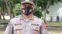 Kabid Humas Polda Gorontalo, Kombes Pol Wahyu Tri Cahyono (Arfandi Ibrahim/Liputan6.com)