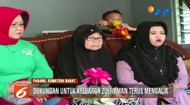 Atas bantuan berbagai pihak, empat kakak Zulfirman, yang menjadi korban penembakan di masjid di Christchurch, akan berangkat ke Selandia Baru, guna mengecek kondisi sang adik.