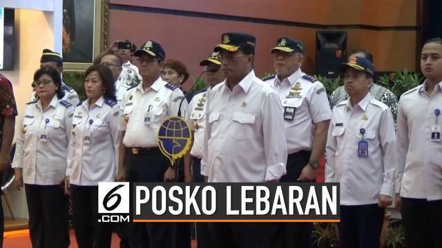 Menteri Perhubungan resmi menutup Posko Terpadu Angkutan Lebaran 2019 pada Jumat 14 Juni 2019.