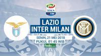 Serie A Lazio Vs Inter Milan (Bola.com/Adreanus Titus)