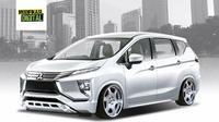 Gaya modifikasi small MPV Mitsubishi (Modifikasi.digital)