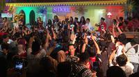 Gala Premier Si Doel The Movie di Jakarta, Sabtu (28/7/2018) (Kapanlagi.com)