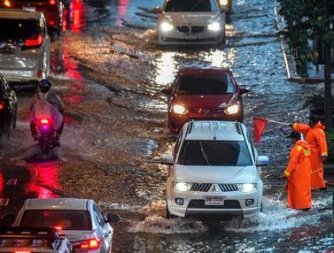 Hujan Lebat, Bangkok Terendam banjir