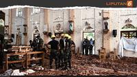 Banner 8 Ledakan Bom Teror Sri Lanka (Liputan6.com/Triyasni)
