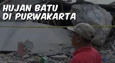 Video Top 3 hari ini ada berita terkait hujan batu di Purwakarta, PSSI resmi dijatuhi sanksi oleh FIFA terkait kericuhan suporter yang terjadi pada pertandingan Indonesia melawan Malaysia, dan hujan sehari Pintu Air Manggarai dipenuhi sampah.