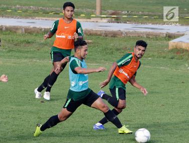 Timnas Indonesia U-22 Asah Taktik Menyerang dan Bertahan
