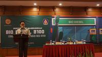 Momon Rusmono menyatakan bahwa hasil uji coba penggunaan Biodiesel B-100 yang dilakukan Kementan mampu mencapai jarak 13,1 kilometer/liter.