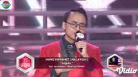Lihat Penampilan Hariz Fayahet yang Memukau di D'Academy Asia 5. sumberfoto: Indosiar