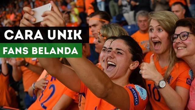 Berita video mengenai keunikan fans Belanda dalam mendukung Timnas sepak bola wanitanya yang sedang berlaga di UEFA Women's Euro 2017.
