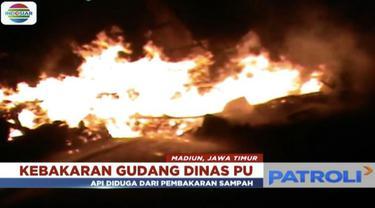 Penghuni rumah mengaku terkejut ketika dikabarkan rumhanya terbakar habis.