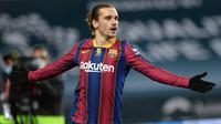 Pemain bintang yang menjadi bintang di klub lamanya juga gagal bersinar usai didatangkan ke Camp Nou, seperti Antoine Griezmann yang memukau bersama Atletico Madrid. (AFP/Cristina Quicler)