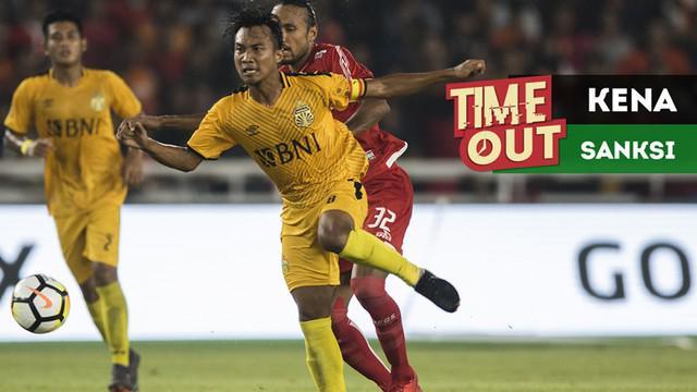 Berita video Time Out kali ini tentang Komisi Disiplin PSSI yang beri sanksi kepada gelandang Bhayangkara FC, M. Hargianto, karena insiden yang terjadi saat laga melawan Persela Lamongan di Gojek Liga 1 2018 bersama Bukalapak.