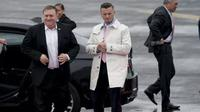 Menteri Luar Negeri Amerika Serikat Mike Pompeo tiba di Pyongyang pada Jumat pagi, (6/7/2018). Bersama delegasinya, Pompeo akan menemui Pemimpin Korea Utara Kim Jong-un. (AFP)