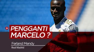 Berita Video Berita Video Fans Real Madrid sambut Ferland Mendy di Santiago Bernabeu