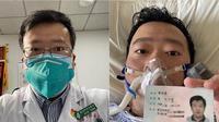 Li Wenliang, dokter di Wuhan meninggal dunia. Ia sebelumnya telah memberi peringatan terhadap adanya Virus Corona. (Source: Instagram/ @tuho0816)