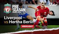 Berita video highlights laga persabahatan antara Liverpool Vs Hertha BSC, Jumat (30/7/21). Stevan Jovetic cetak 2 gol di laga tersebut.