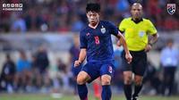 Pemain Timnas Thailand, Ekanit Panya. (Dok. Chiangrai United)