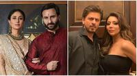 Seleb Bollywood beda agama (Sumber: Instagram/suhanakhanoffcial) & (Sumber: Instagram/saifeena_world)