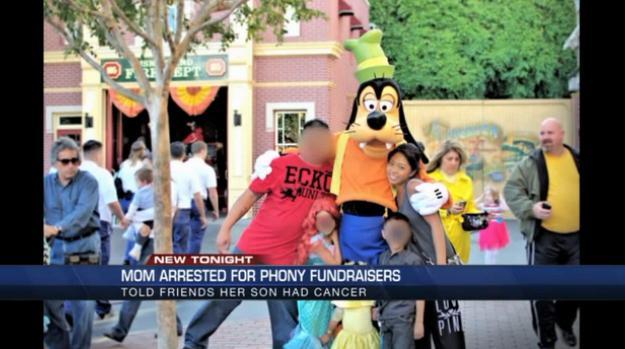 Uang donasi malah dipakai ke Disneyland | Photo copyright Buzzfeed.com