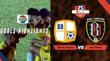 Berita video gol kemenangan Barito Putera atas Bali United dalam lanjutan Shopee Liga 1 2019, Minggu (14/7/2019).